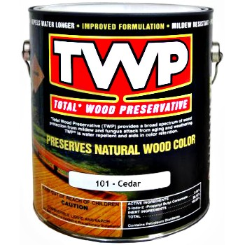 TWP Total Wood Preservative, Cedar ~ One Gallon