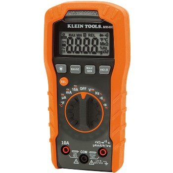 "Auto-Ranging 600v Digital Multi-Meter ~ 6"" H x 1.78"" D"