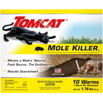 Bwi - O M Scott & Sons Co Mc0372310 10pk Mole Klr Worms
