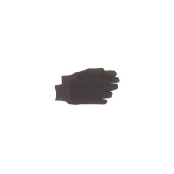 Jersey Work Gloves - Brown