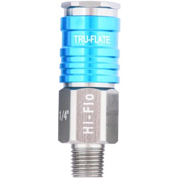 13925 1/4in. Hi Flo Male Coupler