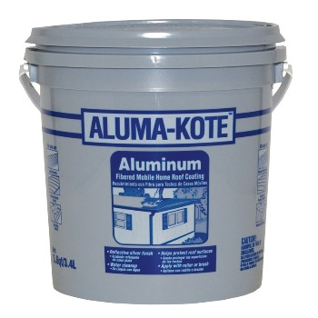 Gardner-Gibson 6241-GA Roof Coating, Aluma-Kote ~ One Gallon 6241-GA