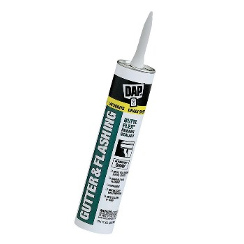DAP 18188 Gutter and Lap Sealant~Gray