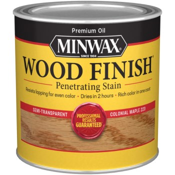 Wood Finish ~ Colonia Maple,  1/2 Pint