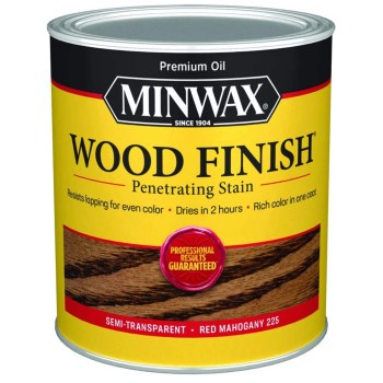Wood Finish, Red Mahogany ~ Quart