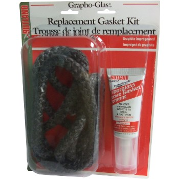 "Stove Gasket Rope Kit  3/8"" x 84"""
