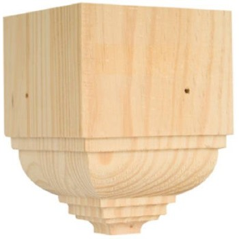 Outside Crown Trim Block-Pine
