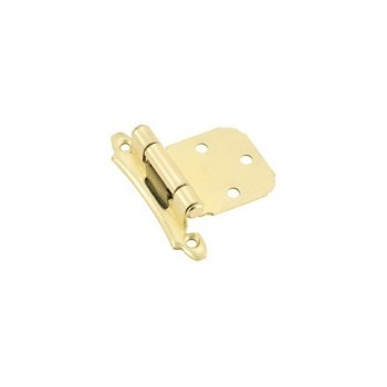 Hinge - Self Closing - Polished Brass Finish