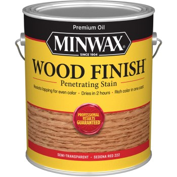 Wood Finish,  Sedona Red ~ Gallon