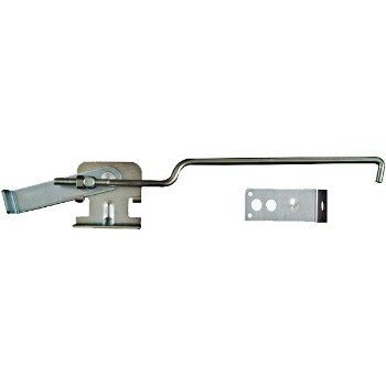 Sliding Door Center Latch, Zinc
