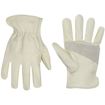 Xl Tan Pgskn Drvr Glove