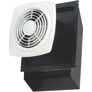 Air King Ventilation  694300 Through-The-Wall Exhaust Fan, White Finish  ~ 180 CFM