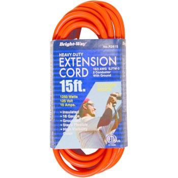R2615 16/3 15ft. Or Outdoor Cord