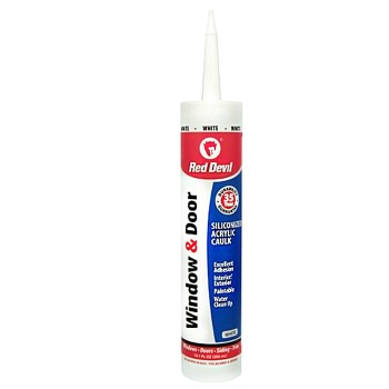 10.1oz White Window Caulk