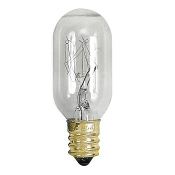 Appliance Bulb, Clear T-7 15 Watt