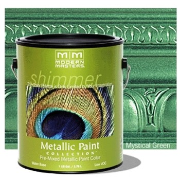 Mystical Green Metallic Paint ~ One Gallon