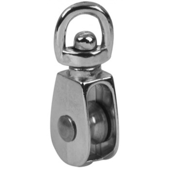 Single Wheel Swivel Eye Pulley - 2""