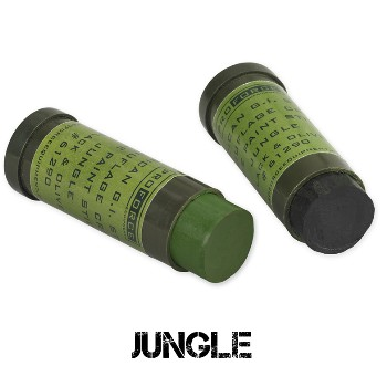 Face Paint, Jungle (Green & Black)