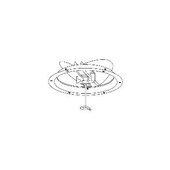 Hart & Cooley 1800B8 Round Ceiling Damper, 8 inch