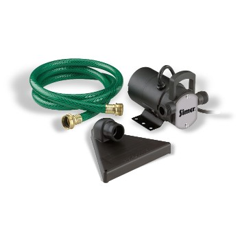 Portable Mini-Vac Utility Pump Kit - 115v