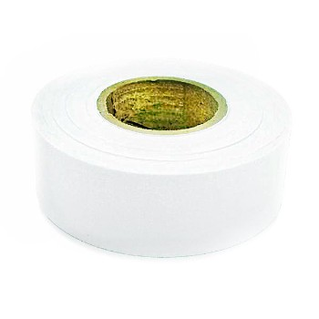 Flagging Tape, White