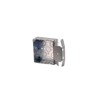 Square Switch Box For Metal Studs, 4 inch