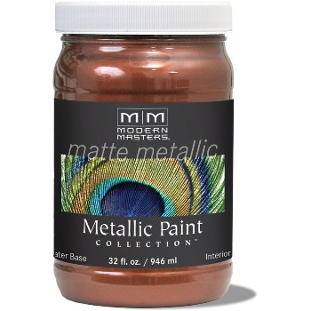 Matte Metallic Paint ~ Antique Copper, Quart