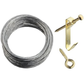 Hanging Kit Width/10ft. Cord, Visual Pack 2562