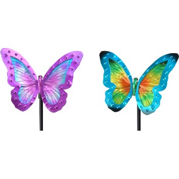 LED Butterfly Stake Lights, 29""