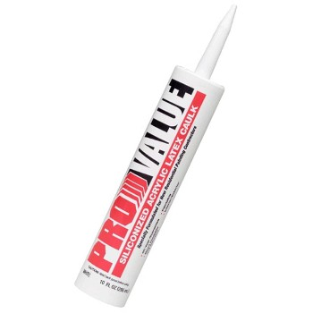 White Lightning Products WL0009650 Painters Caulk, White ~ 10 oz.