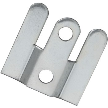 "Flush Mount Hanger, Zinc Plated ~ 1"" x 1"""