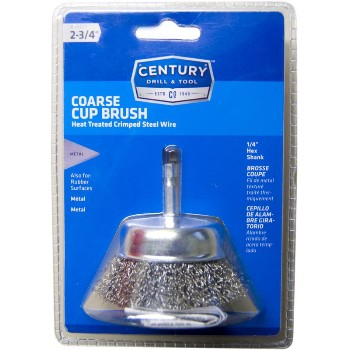 Century Drill & Tool   76221 2-3/4 Coarse Cup Brush 76221