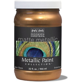 Matte Metallic Paint ~ Antique Bronze, Quart