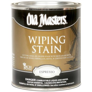 Wiping Stain, Espresso  ~ Quart