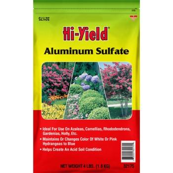 V.P.G. FH32175 Hi-Yield Aluminum Sulfate ~ 4 Lb Bag