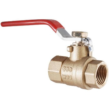 Lead Free Full Port IPS Ball Valve ~ 1/4""
