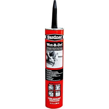 Wet-R-Dri All Weather Plastic Roof Cement ~ 10.1 oz Tubes