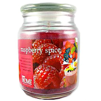 Raspberry Spice Candles
