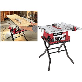 Table Saw w/Fixed Stand ~ Skil Brand, 10""