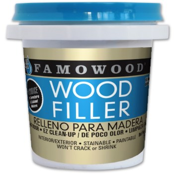Wood Filler, White, 1/4 Pint