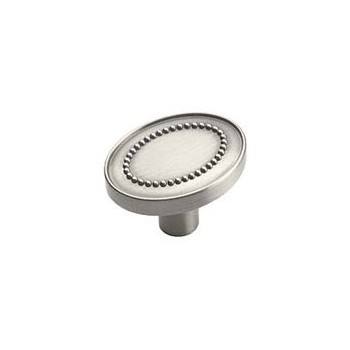 Knob - Satin Chrome Finish - 1 3/8 inch