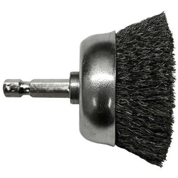 Drill Cup Fine Wire Brush ~  1 3/4""