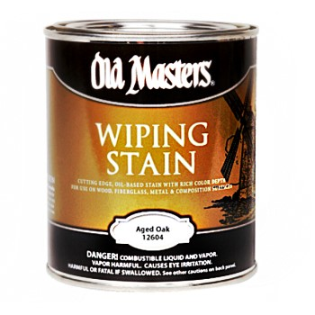 Wiping Wood Stain, Aged Oak ~ Quart