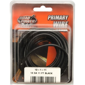12-1-11 12ga Blk Primary Wire