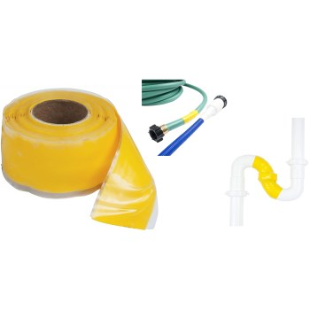 "Silicone Self-Healing  Repair Tape, Yellow ~ 1"" x 10 Ft"