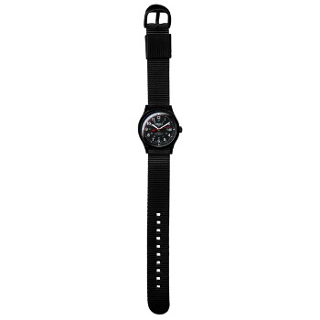 Ultra Light Field, Black Mid-Sized Dial, Nylon Strap