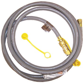 21st Century R12 BBQ Natural Gas Hose - 12 Feet