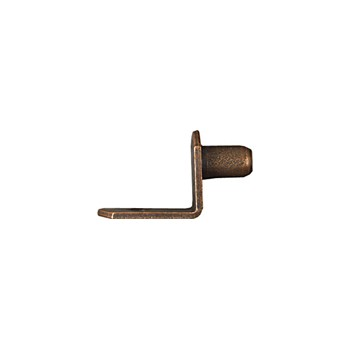 "National 189605 Bronze Shelf Support for 1/4"" Hole"