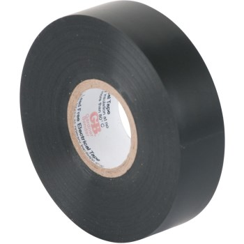 Gtp-607p 3/4in. X60ft. Black Tape