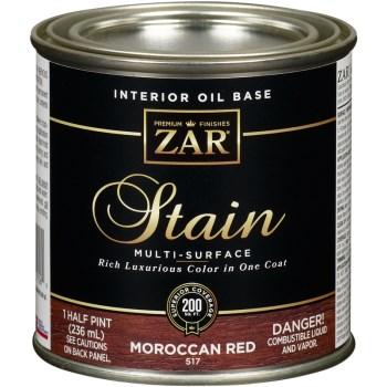 ZAR  Wood Stain ~ Dark Mahogany, 1/2 Pint
